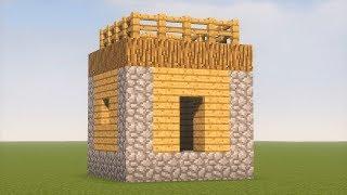 как в майнкрафте сделать дом для жителей