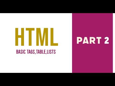 Part 2 | HTML | Web Designing Malayalam Tutorial | Crossroads