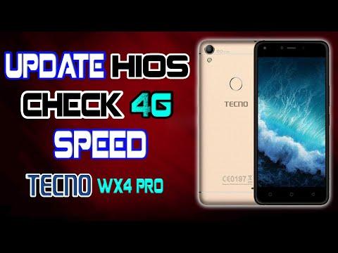 Tecno Wx4 pro Update HIOS & Check 4G Speed W ZONE