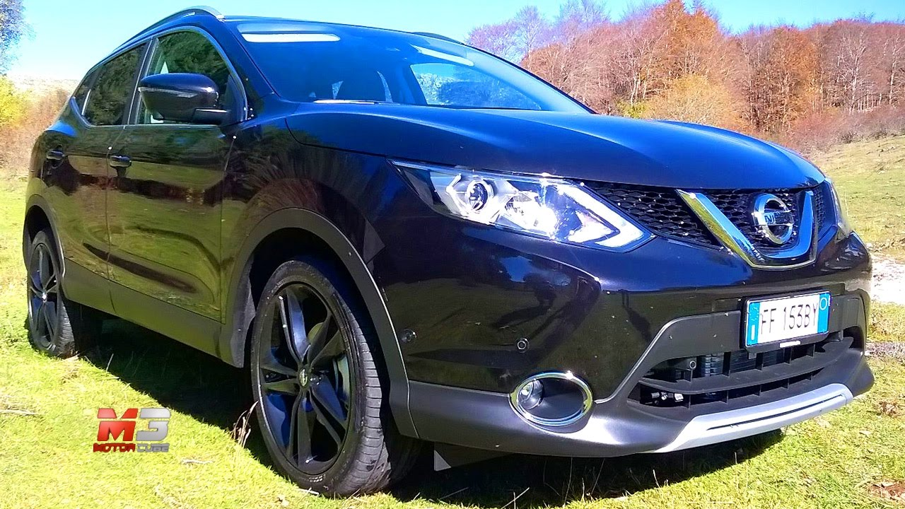 New Nissan Qashqai Black Edition 2017 First Test Drive Only Sound You