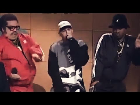 Old School Rappers and Eminem on SNL (2000)