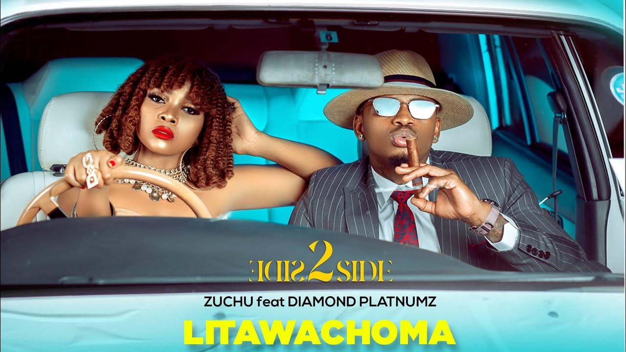 Zuchu Ft Diamond Platnumz - Litawachoma (Official Audio) SMS SKIZA 5800549  to 811 - YouTube