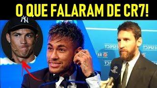 CRISTIANO RONALDO É MELHOR que MESSI!? - SEGUNDO os JOGADORES! - Feat Kompany, Cr7 e Messi!
