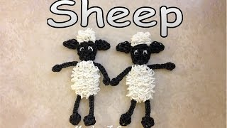 Rainbow Loom Sheep Tutorial: How To with Loom bands