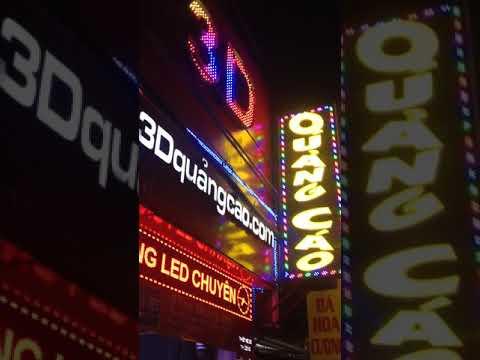 Đèn Led 3D, Bảng hiệu đèn Led, Hộp Đèn Led, Thi công đèn led quảng cáo