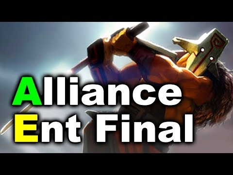 Alliance vs TeamEnt - Final TI7 EU Champs Quals DOTA 2