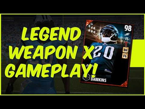 MUT 17 Gameplay | UL Brian Dawkins Gameplay - Can We Get Back To Back MUT Super Bowls?