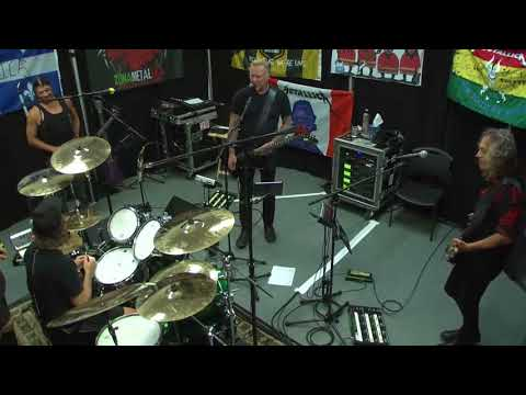Metallica Tuning room Aug 16th, 2017, Edmonton, Canada (Full