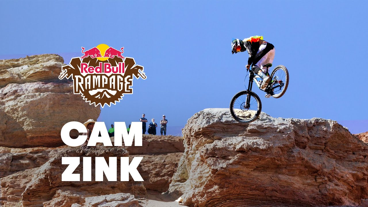 Red Bull Rampage >> Cam Zink's Massive 360 Step-Down POV - Red Bull Rampage 2014 - YouTube