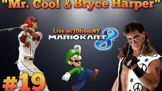 "Mario Kart 8 Multiplayer Gameplay   Mario Kart 8 #19   ""Bryce Harper & Mr. Cool"""