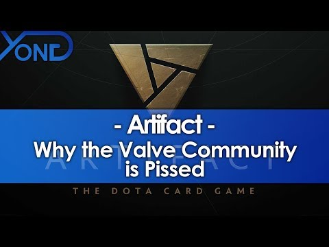 Why the Valve Community is Pissed About Artifact, the Dota Card Game