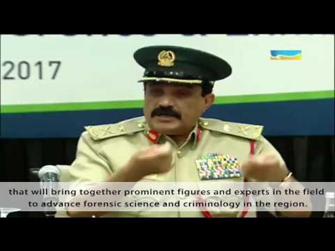 Emirates International Forensic Press Conference 2016