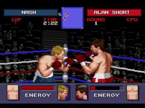 Real Deal Boxing Evander Holyfield Sega Full playthrough