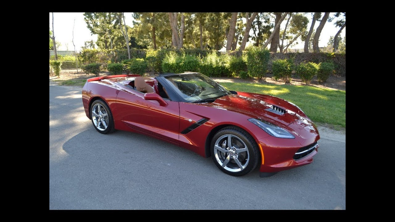 Sold 2014 chevrolet corvette convertible crystal red metallic for sale by corvette mike youtube
