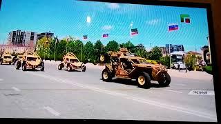Парад Победы 9 мая 2018г в г Грозный Чеченской Республики