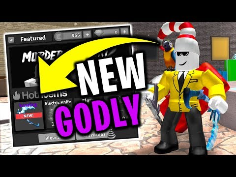 NEW GODLY (Roblox Murder Mystery 2)