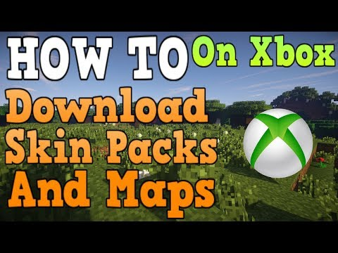 How To Get Skins/Maps In Minecraft Xbox One
