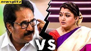 உச்சக்கட்ட மோதல் ஏன் ? : Thirunavukkarasar Slams Kushboo on Political Clash | Congress, DMK