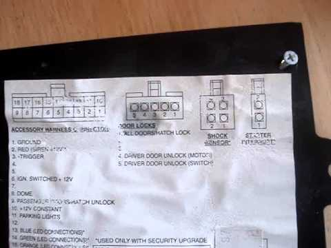 subaru alarm bypass youtube rh youtube com Basic Car Alarm Diagram Home Alarm System Wiring Diagram