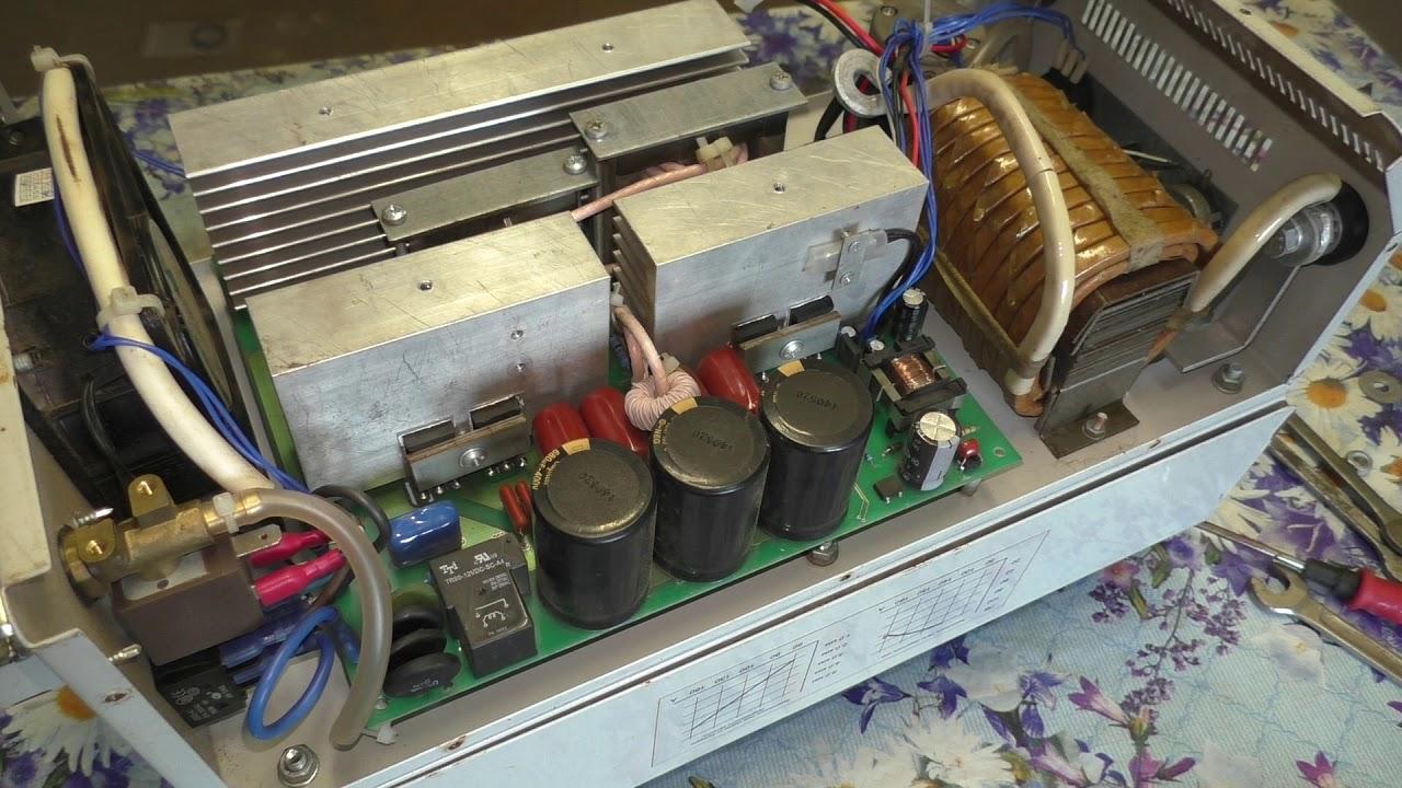 Срочный ремонт сварочного инвертора MASTER ПДГ -1600 ИМ