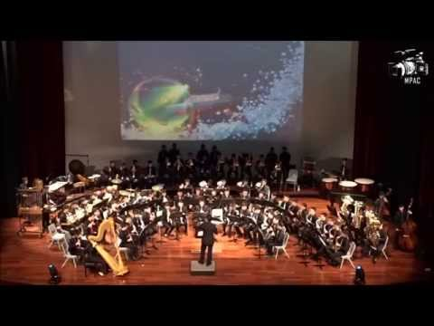Anglo-Chinese School (Independent) Symphonic Band - Concert 2015 - Ponyo