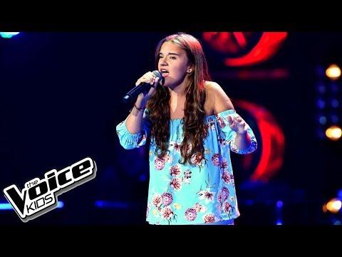 """Julka Wasielewska – """"Tam gdzie ty"""" – Przesłuchania w ciemno – The Voice Kids Poland"""