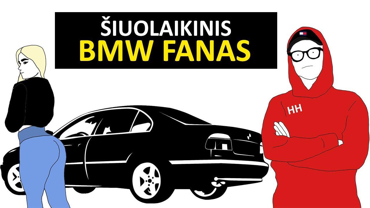 Šiuolaikinis BMW Fanas