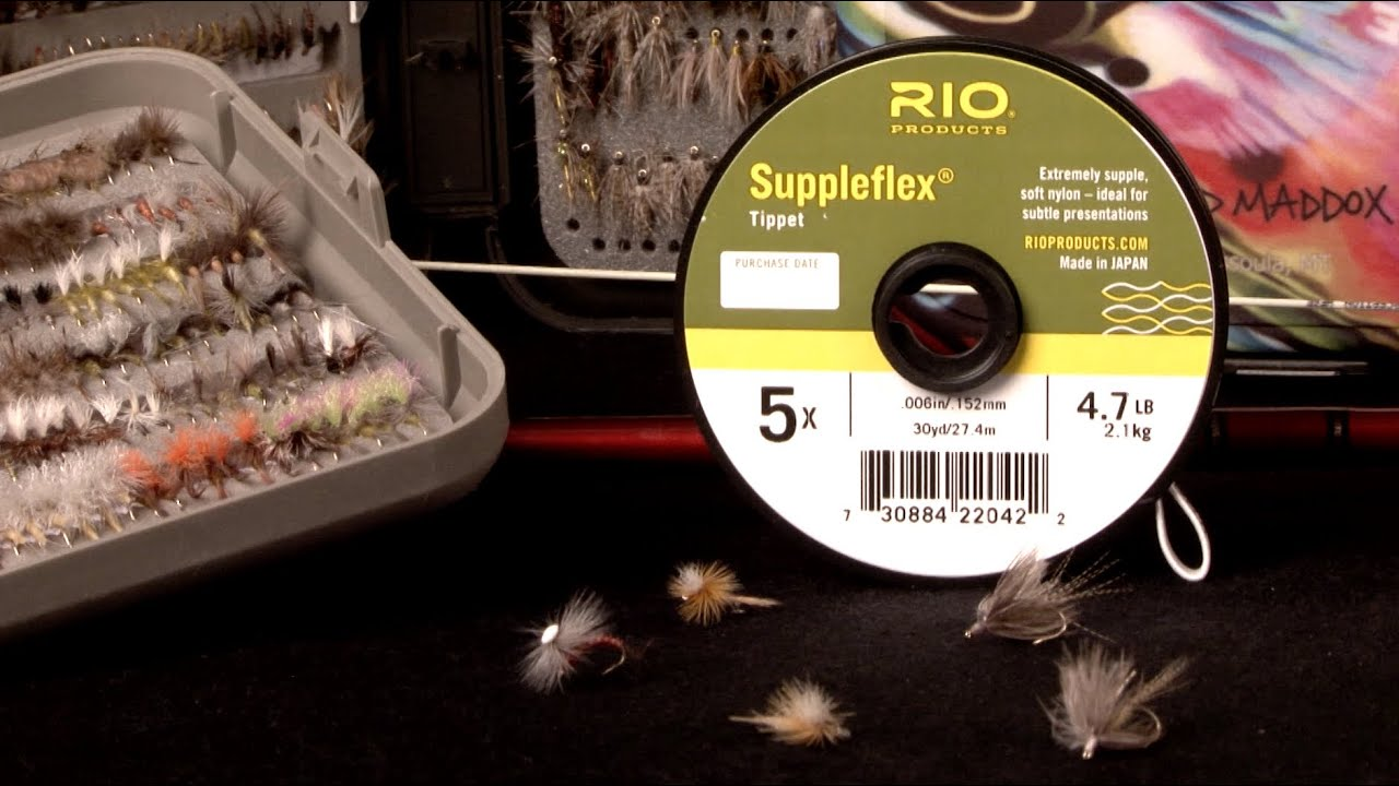 Choosing tippet leader material rio fly fishing for Tippet fly fishing