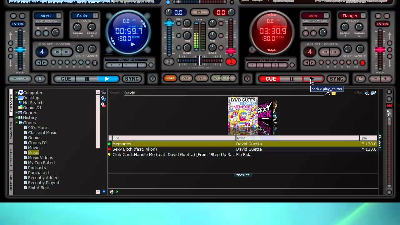 How To MIx Two Songs Together In Virtual Dj - YouTube