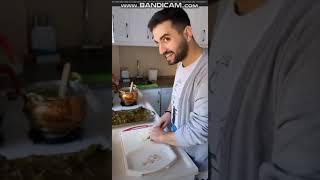 Kadir Ezildi Corona Virüs Karantinası Evde Annesiyle Temizlik Yaptı Erken Bayram Hazırlığı