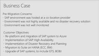 Lessons from a successful SAP on Azure migration   BRK2272