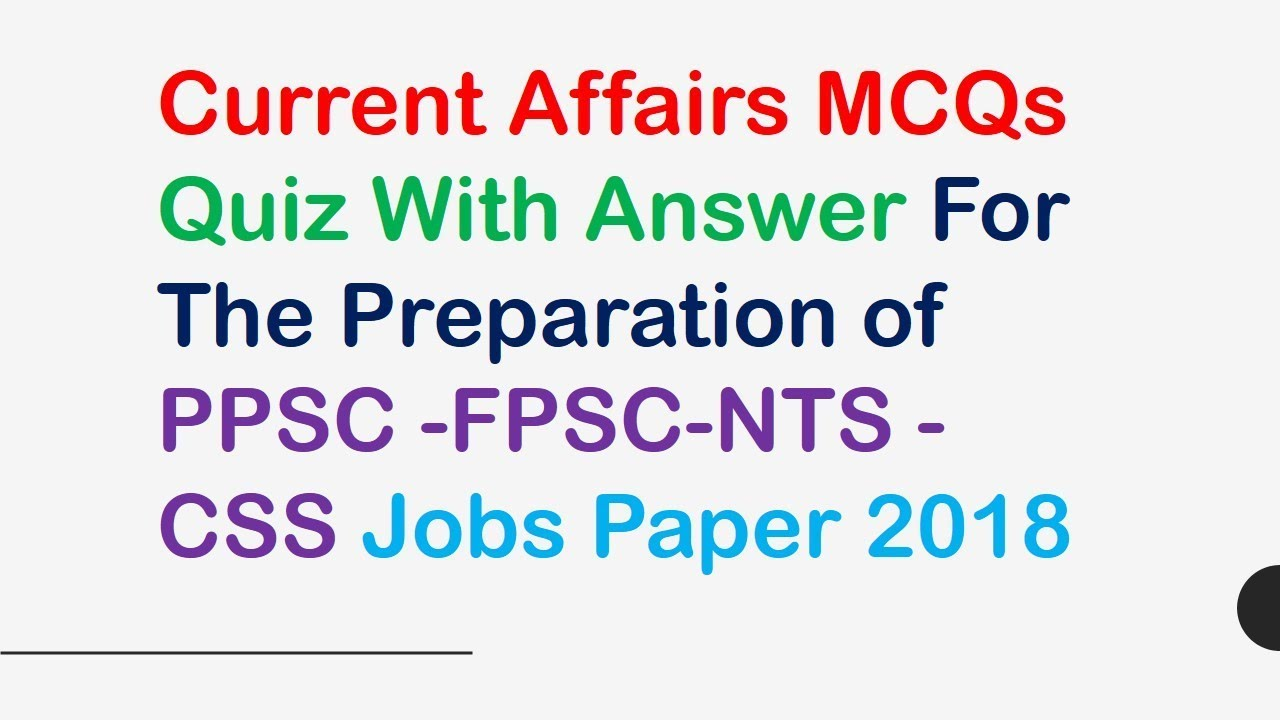 PAKISTAN CURRENT AFFAIRS MCQS EPUB » Pauls PDF
