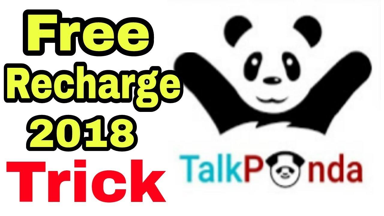 231fe2e00ca6 Talk Panda Free Recharge 2018