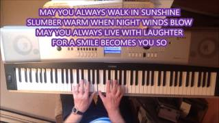 MAY YOU ALWAYS - A SONG FROM 1958 - WRITTEN BY LARRY MARKES & DICK CHARLES