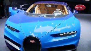 Révélation de la Bugatti Chiron / Salon de Genève 2016 - Cédric Faiche BFMTV