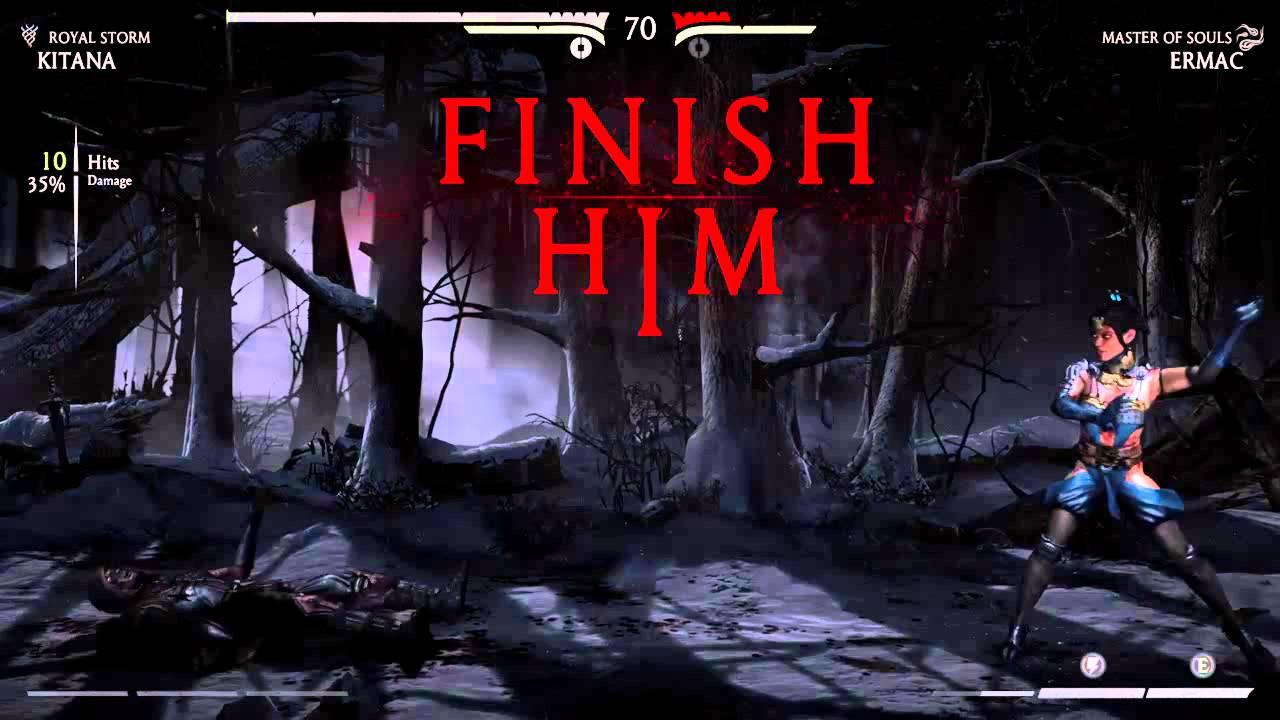 Mortal Kombat X Kitana Wins Fatality Youtube