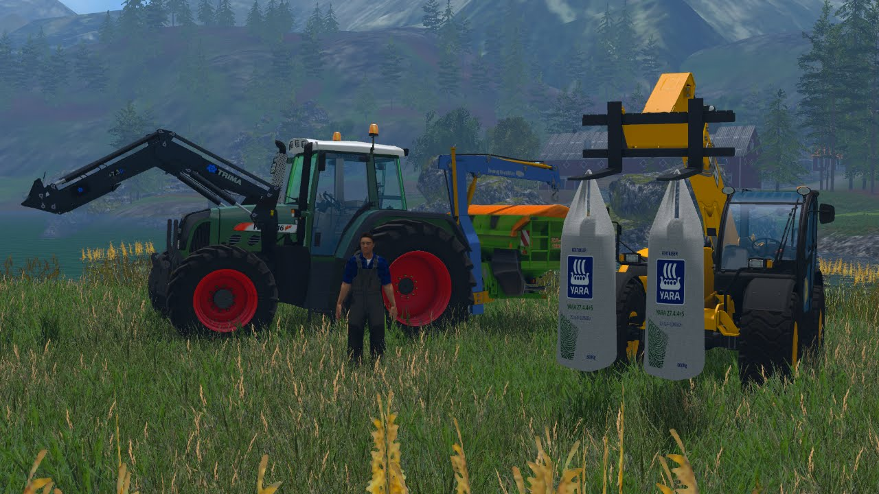 Fertilizing In Norway FS YouTube - Norway map farming simulator 2015