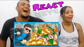 React # 211 OS MELHORES MODS DO GTA V DA ZUEIRA ( Davy  Jones )