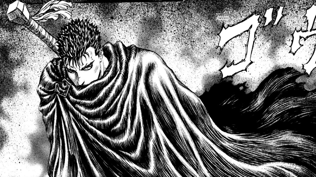 Berserk manga horse scene