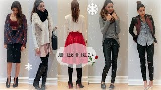 Fall/Winter 2014 Quick & Easy Outfit Ideas Thumbnail