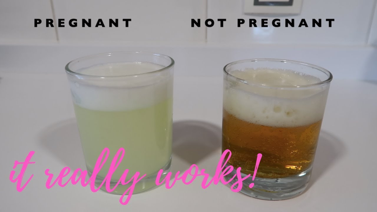 pregnancy test using urine and bleach