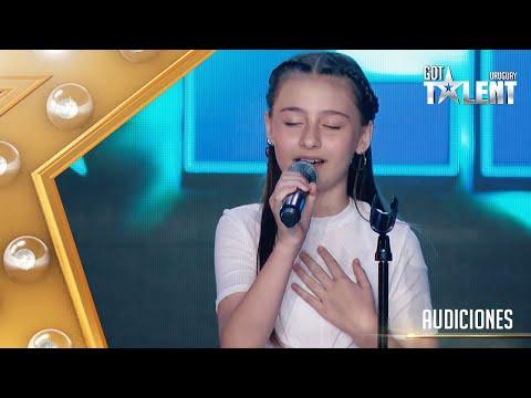 ¡Hermoso! EVANGELINA lució su VOZ con una balada de DEMI LOVATO