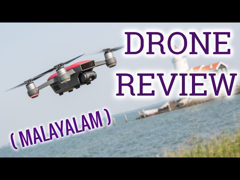 Dji Spark review (Malayalam) | Drone review