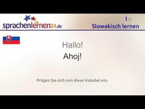 Lernen Sie Die Wichtigsten Wörter Auf Slowakisch