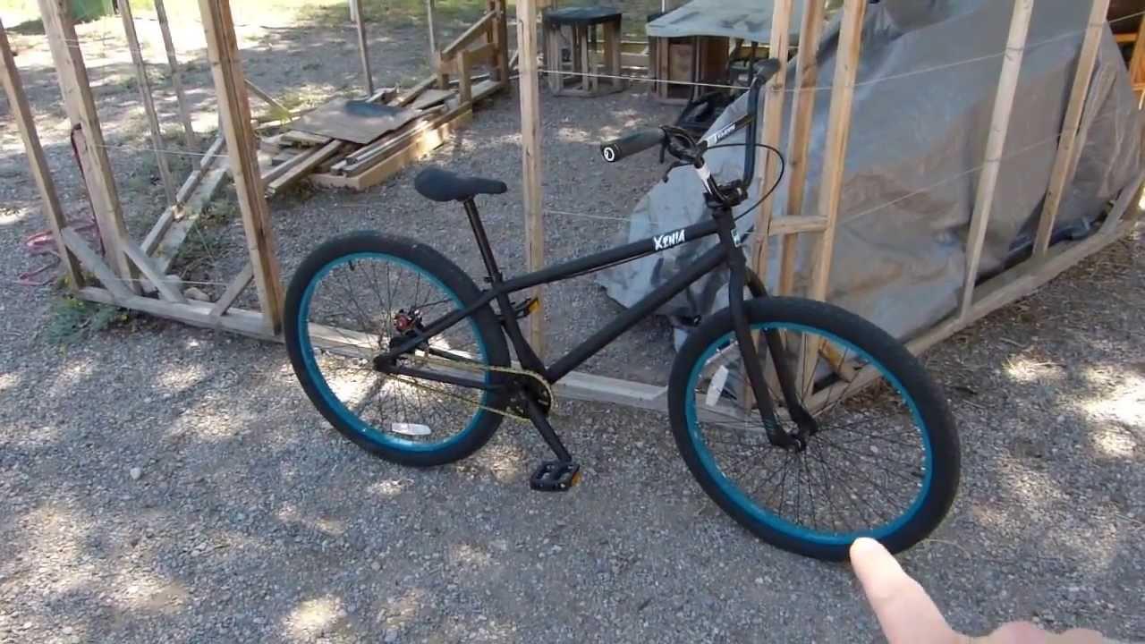 Dk Xenia 26 Bmx Dirt Jump Bike Wal Mart Version Review Youtube