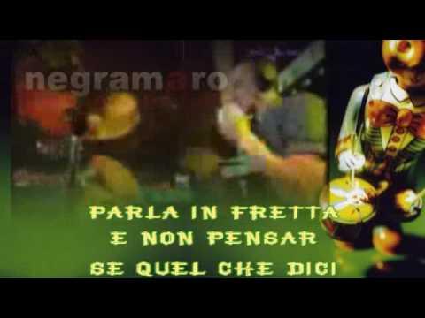 Negramaro  Mentre tutto scorre Sanremo 2005 karaoke con testo sincronizzato