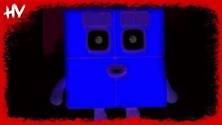 Numberblocks - Theme Song (Horror Version) 😱