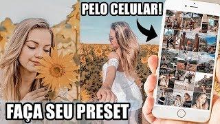 EDIÇÃO DE FOTOS TIPO GRINGA COM APP GRÁTIS - FAÇA SEU PRESET NO CELULAR!