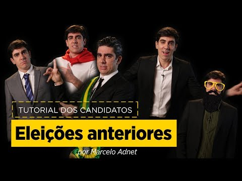 Marcelo Adnet imita Temer, Collor, Brizola, Crivella, Enéas e Vargas