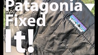 Patagonia Fixed It!!